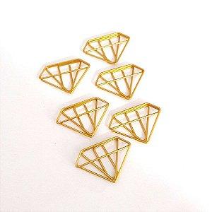 Clip Diamante 6 unidades