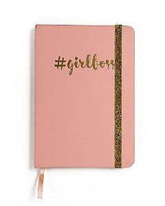 Caderno Pautado Girlboss