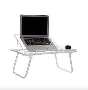 Mesa dobrável colo para notebook aramado