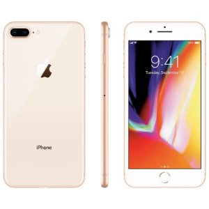 iPhone 8 Plus 256gb Apple 4G Desbloqueado Dourado - Lacrado Garantia Apple de 1 Ano