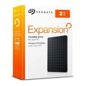 HD Externo Seagate Expansion Portátil 2TB USB 3.0 Preto STEA2000400