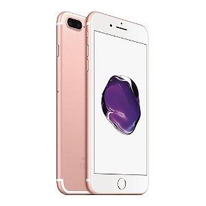 iPhone 7 Plus 128gb Apple 4G LTE Desbloqueado Rosa - Produto de Vitrine Usado com Garantia de 90 dias