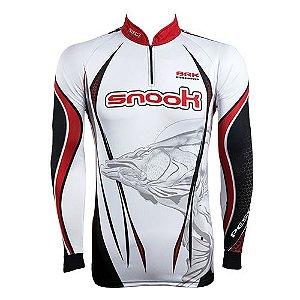 Camisa de Pesca Brk Robalo Snook com fps 50+