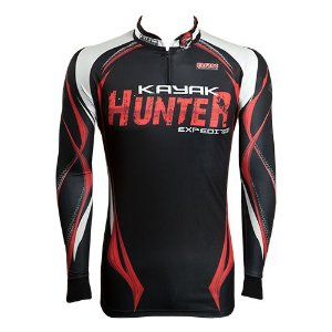 Camisa de Pesca Brk Kayak Hunter com fpu 50+