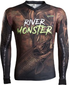 Camisa de Pesca Brk River Monster Trairão com fpu 50+
