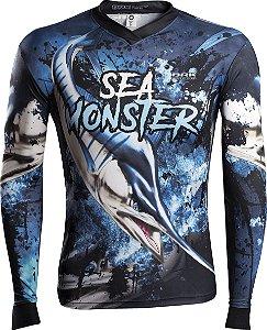 Camisa de Pesca Brk Sea Monster Marlim com fpu 50+
