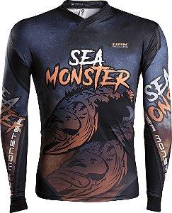 Camisa de Pesca Brk Sea Monster Mero com fpu 50+