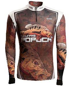 Camisa de Pesca Brk Tucunaré Popoca 2.0 com fpu 50+