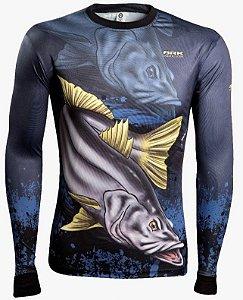 Camisa de Pesca Brk Combat Fish Robalo 1.0 fpu 50+