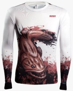 Camisa de Pesca Brk Combat Fish Traira 2.0 fpu 50+