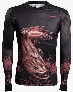 Camisa de Pesca Brk Combat Fish Traira 1.0 fpu 50+