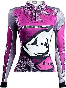 Camisa de Pesca Feminina Fisher Girl com fpu 50+
