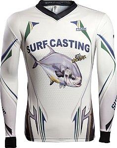 Camisa de Pesca Brk Sea Monster Surf Casting com fpu 50+