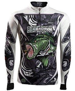 Camisa de Pesca Brk Black Bass Master fpu 50+