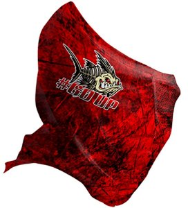 Bandana Black Mask Brk FPU 50+ REF 021