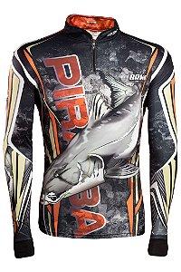 Camisa de Pesca Brk Piraiba Camo com fps 50+