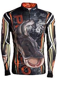 Camisa de Pesca Brk Pintado Camo com fps 50+
