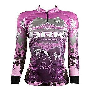 Camisa de Pesca Feminina Brk Lady com fpu 50+