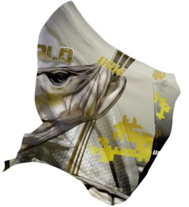 Bandana Black Mask Brk FPU 50+ REF 033