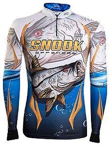 Camisa de Pesca Brk Robalo Snook Offshore  com fps 50+