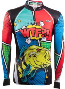 Camisa de Pesca Brk Tucuna Comics com fps 50+