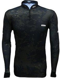 Camisa de Pesca BRK Camuflada com fps +50