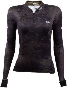 Camisa de Pesca BRK Feminina Camuflada com fps +50