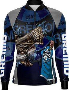 Camisa de Pesca Personalizada Traíra Futebol 09 com fps 50+