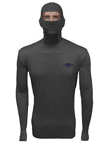 Camisa de Pesca com Capuz BRK Cáqui com fpu50+