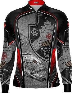 Camisa de Pesca Personalizada Tucunaré Futebol 10 com fps 50+