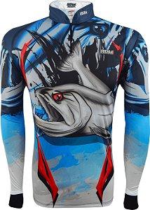 Camisa de Pesca Brk Cachorra com fps 50+
