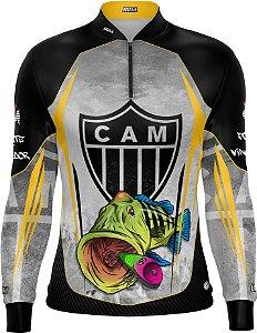 Camisa De Pesca Tucunaré Futebol 15 Com Fps 50+