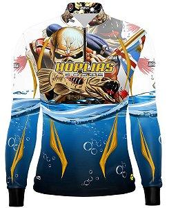 Camisa de Pesca Brk Traíra Hoplias Eddie Com Fps 50+