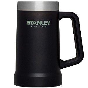 Caneca Térmica De Cerveja/chopp Matte Black 709ml - Stanley