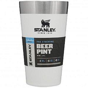 Copo Térmico De Cerveja Sem Tampa Branco Polar 473ml - Stanley