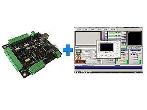 PROMOÇÃO: CONTROLADORA NX-USB + 1 LICENÇA DO SOFTWARE MACH3