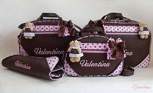 Kit Bolsa Maternidade NM-02014GMTP - Personalizado