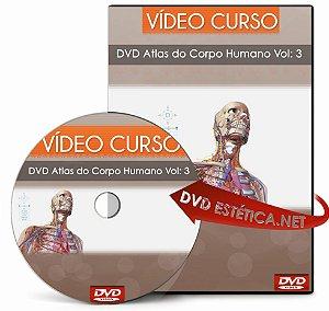 DVD Atlas do Corpo Humano Vol: 3