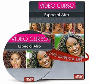 Vídeo aula de Especial Afro (Texturização, Técnicas com modelador térmico...)