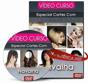 Vídeo aula de Cortes Com Navalha