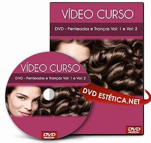 Vídeo aula de Penteados e Tranças (Duplo)