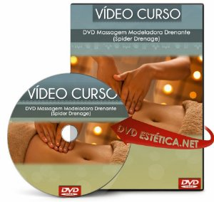 Vídeo aula de Massagem Modeladora Drenante