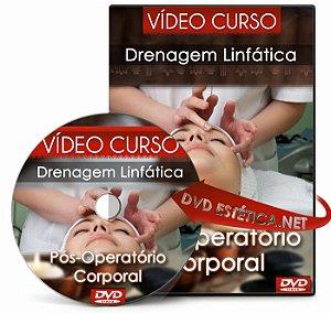 Vídeo aula de Drenagem Pós-Operatório Corporal