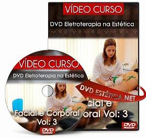 Vídeo aula de Eletroterapia na Estética - Facial e Corporal Vol: 3