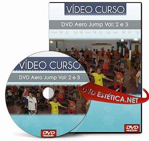 Vídeo aula de Aero Jump Vol: 2 e 3