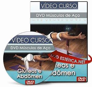 Vídeo aula de Músculos de Aço - Glúteos e Abdômen