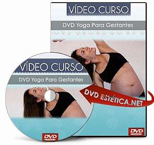 Vídeo aula de Yoga Para Gestantes