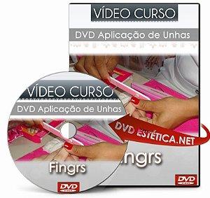 DVD de Aplicação de Unhas Fingrs