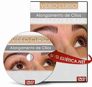 DVD de Alongamento de Cílios