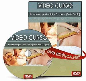 DVD de Bambuterapia Facial e Corporal (DVD Duplo)